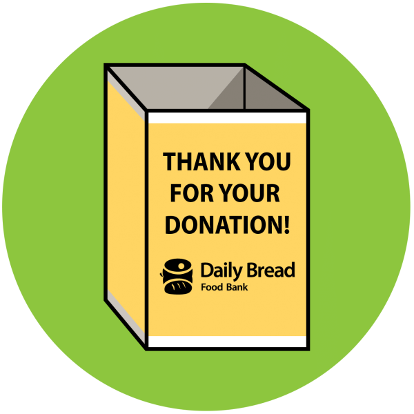 Daiily Bread's donation bin icon