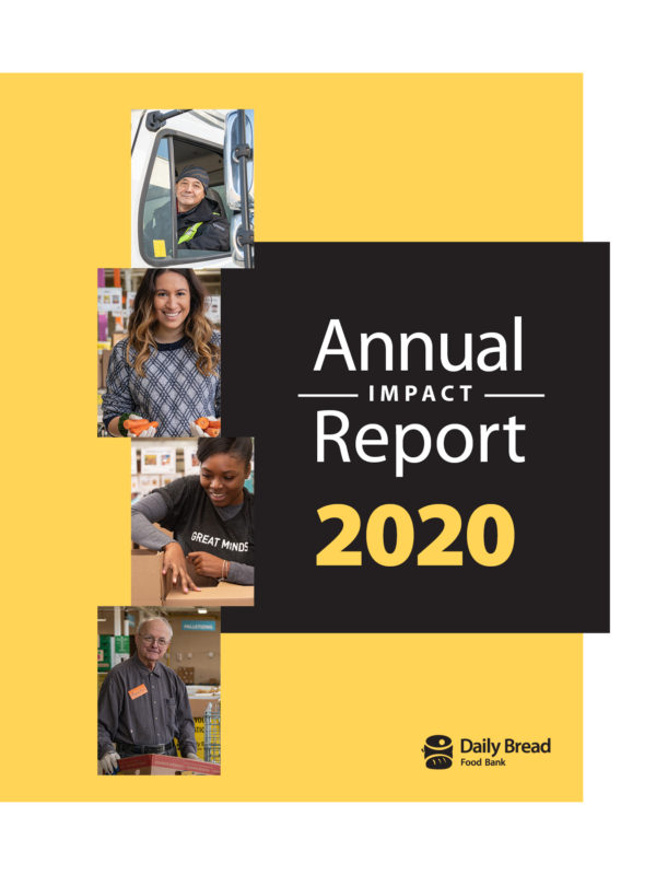 Image of the cover of the annual report titled: Annual Impact Report 2020